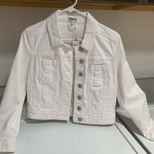 Express white jacket